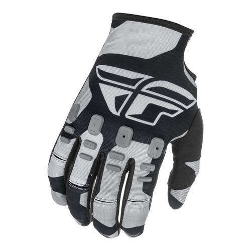 Fly Racing 2021 Youth Kinetic K221 MX Gloves Black/Grey