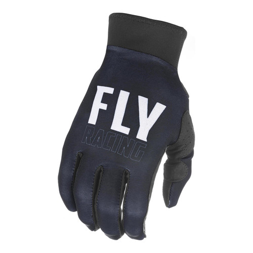 Fly Racing 2021 Adult Pro Lite MX Gloves Black/White