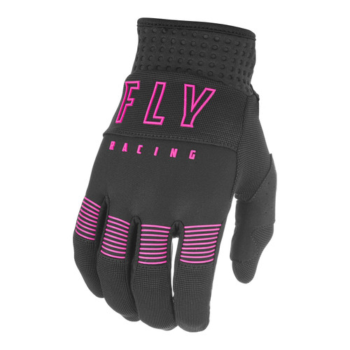 Fly Racing 2021 Adult F-16 MX Gloves Black/Pink