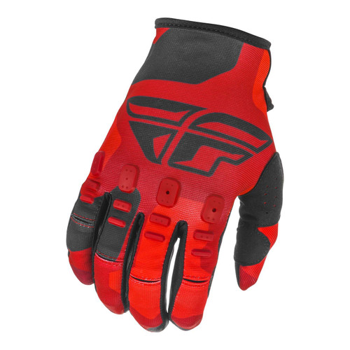 Fly Racing 2021 Youth Kinetic K221 MX Gloves Red/Black