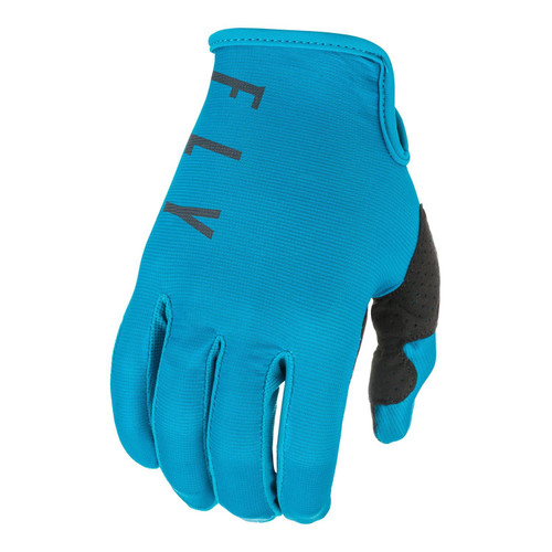 Fly Racing 2021 Lite Youth MX Gloves Blue/Grey