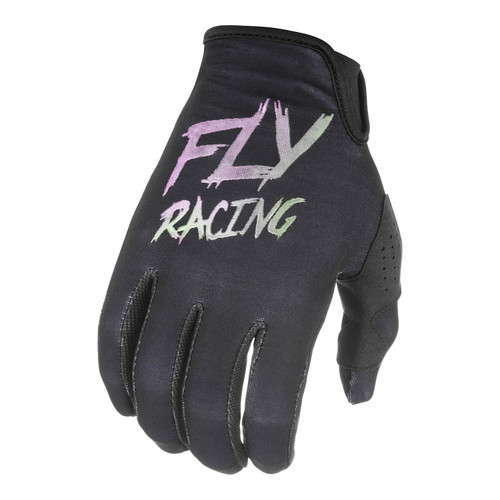 Fly Racing 2021 LIte SE Youth MX Gloves Black/Fusion
