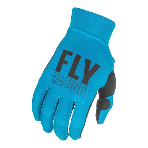 Fly Racing 2021 Adult Pro Lite MX Gloves Blue/Black