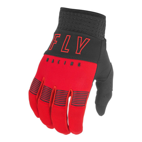 Fly Racing 2021 Youth F-16 MX Gloves Red/Black