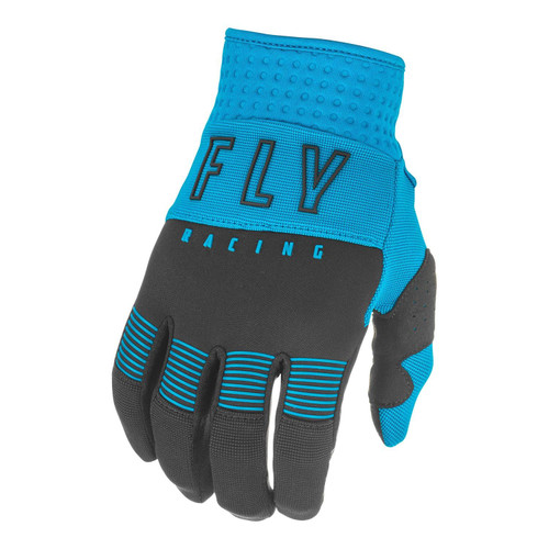 Fly Racing 2021 Youth F-16 MX Gloves Blue/Black