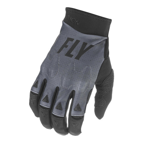Fly Racing 2021 Adult Evolution DST MX Gloves Grey/Black/Stone