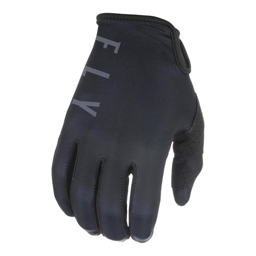 Fly Racing 2021 Lite Adult MX Gloves Black/Grey