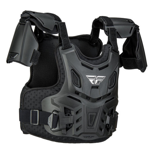 Fly Revel CE Chest Protector (Black) Size Youth