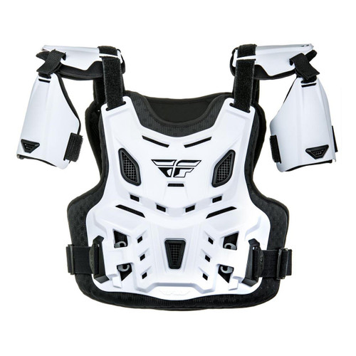 Fly Revel CE Chest Protector (White) Size Youth