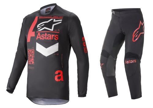 Alpinestars 2021 Fluid Chaser MX Gear Black/Red