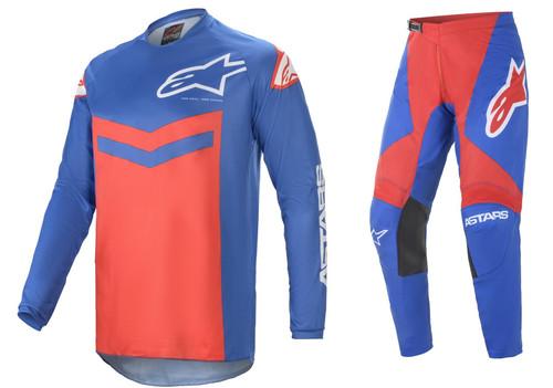 Alpinestars 2021 Fluid Speed MX Gear Blue/Bright Red
