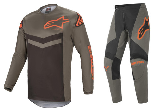 Alpinestars 2021 Fluid Speed MX Gear Dark Grey/Orange