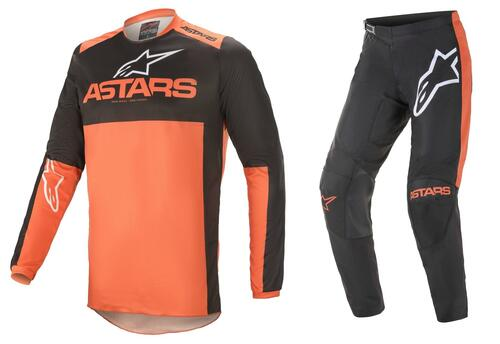 Alpinestars 2021 Fluid Tripple MX Gear Black/Orange