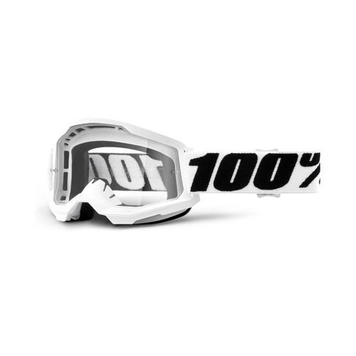 100 Percent STRATA 2 Goggle Everest - Clear Lens