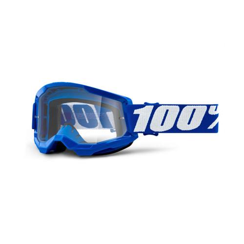 100 Percent STRATA 2 Goggle Blue - Clear Lens