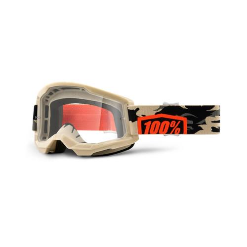 100 Percent STRATA 2 Goggle Kombat - Clear Lens