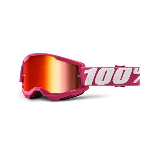 100 Percent STRATA 2 Goggle Fletcher - Mirror Red Lens