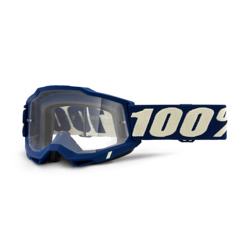 100 Percent ACCURI 2 Goggle Deepmarine - Clear Lens