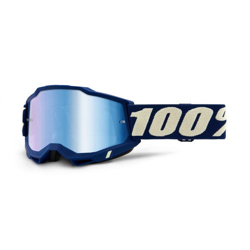 100 Percent ACCURI 2 Goggle Deepmarine - Mirror Blue Lens