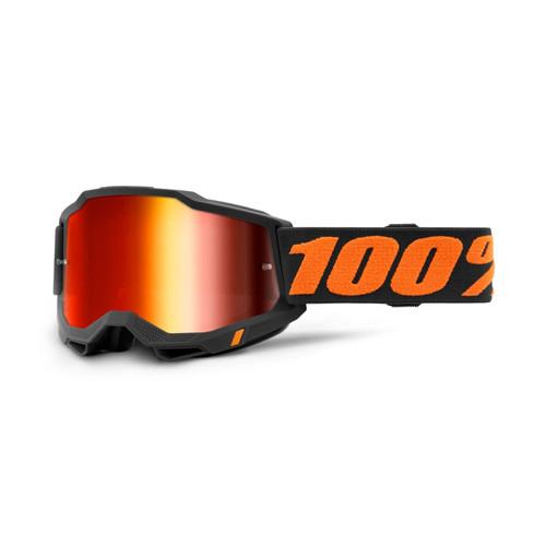 100 Percent ACCURI 2 Goggle Chicago - Mirror Red Lens