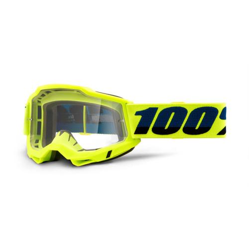 100 Percent ACCURI 2 OTG Over The Glasses Goggle Black - Clear Lens
