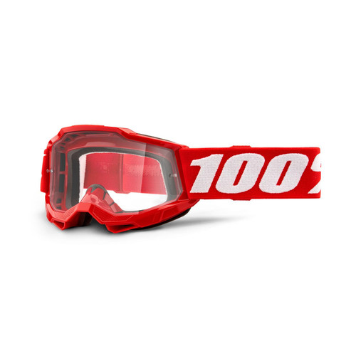 100 Percent ACCURI 2 Youth Goggle Red - Clear Lens