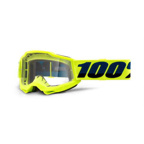 100 Percent ACCURI 2 Youth Goggle Yellow - Clear Lens