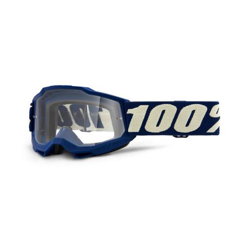 100 Percent ACCURI 2 Youth Goggle Deepmarine - Clear Lens