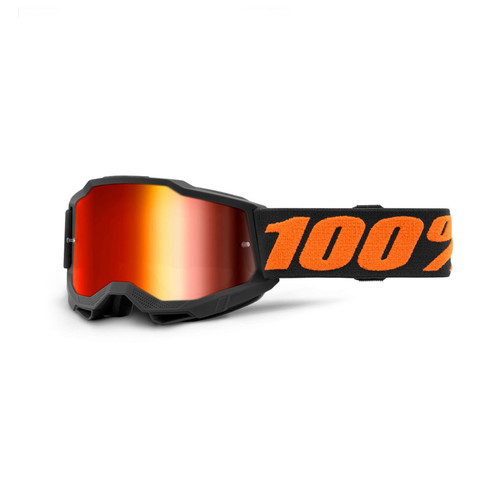 100 Percent ACCURI 2 Youth Goggle Chicago - Mirror Red Lens