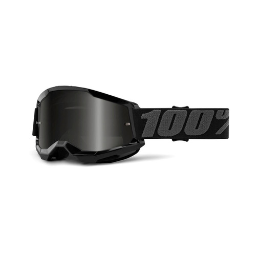 100 Percent STRATA 2 Sand Goggle Black - Smoke Lens