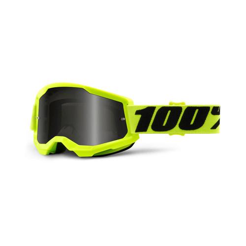 100 Percent STRATA 2 Sand Goggle Yellow - Smoke Lens