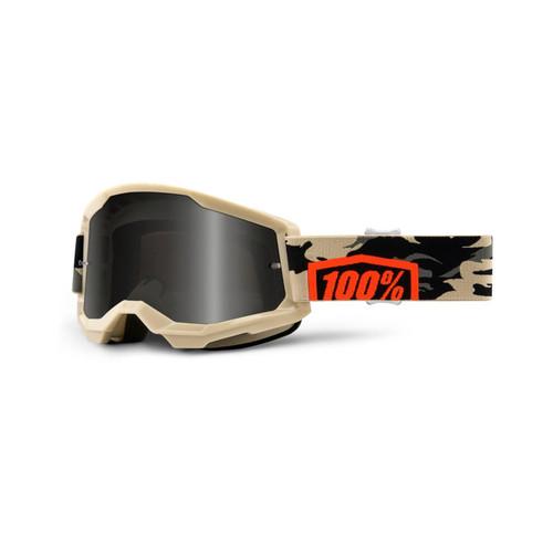100 Percent STRATA 2 Sand Goggle Kombat - Smoke Lens