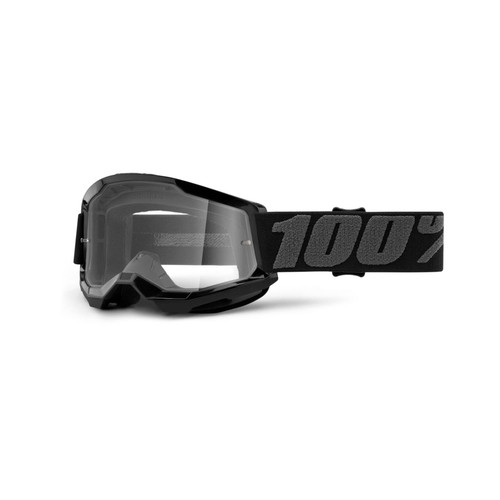 100 Percent STRATA 2 Youth Goggle Black - Clear Lens