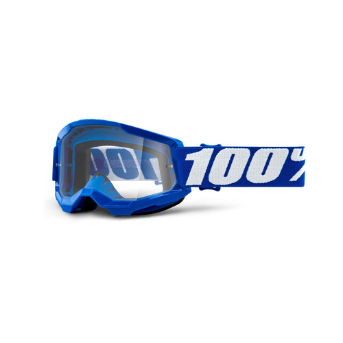 100 Percent STRATA 2 Youth Goggle Blue - Clear Lens