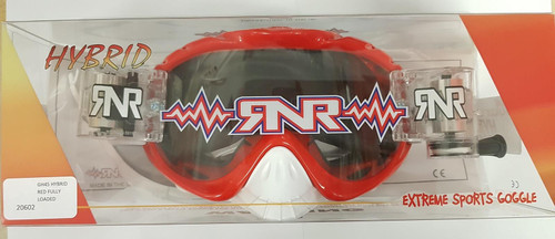 RIP N ROLL GH45 RNR HYBRID FULLY LOADED R/P GOGGLE BRILLIANT RED