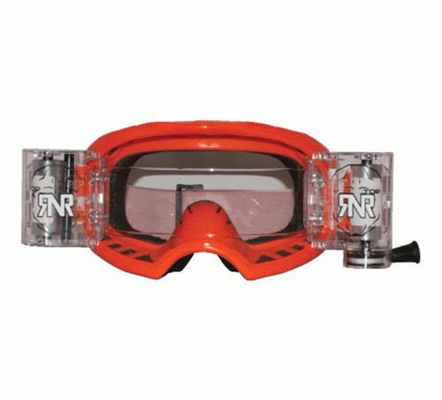 RIP N ROLL GXX46 RNR COLOSSUS WVS GOGGLE WITH 48MM FILMS ORANGE