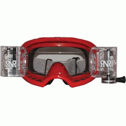RIP N ROLL GXX45 RNR COLOSSUS WVS GOGGLE WITH 48MM FILMS RED
