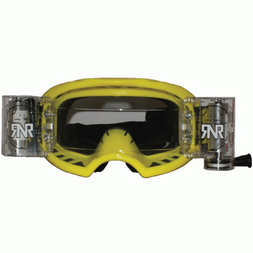 RIP N ROLL GXX48 RNR COLOSSUS WVS GOGGLE WITH 48MM FILMS YELLOW