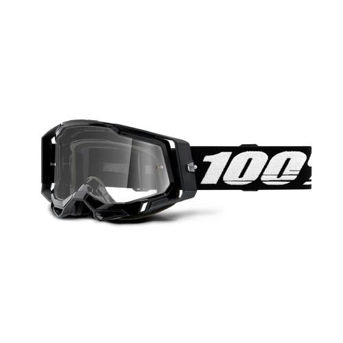 100 Percent RACECRAFT 2 Goggle Black - Clear Lens
