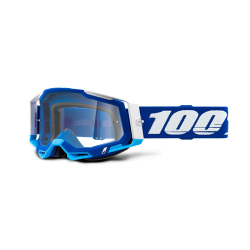 100 Percent RACECRAFT 2 Goggle Blue - Clear Lens