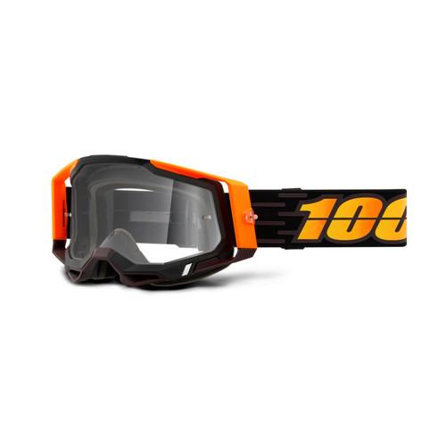 100 Percent RACECRAFT 2 Goggle Costume 2 - Clear Lens