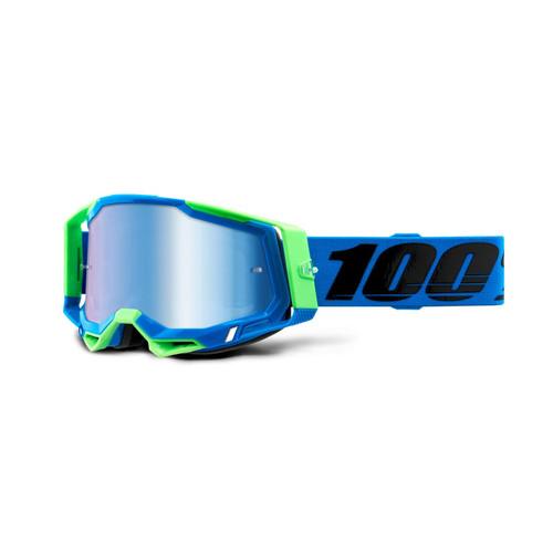 100 Percent RACECRAFT 2 Goggle Fremont - Mirror Blue Lens