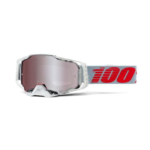 100 Percent ARMEGA Goggle X-Ray - HiPER Silver Lens