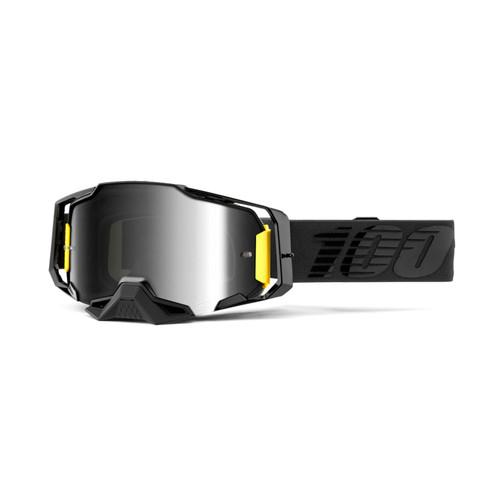 100 Percent ARMEGA Goggle Nightfall - Mirror Silver Lens