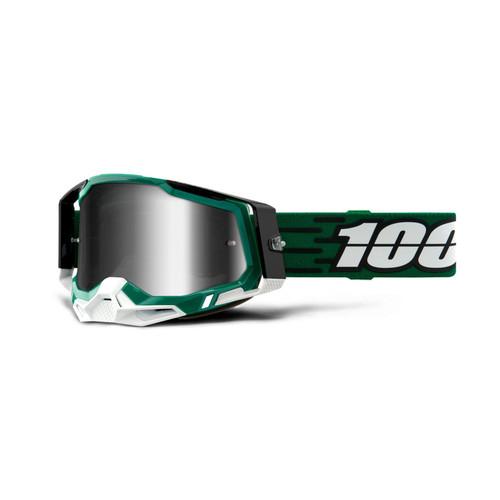 100% RACECRAFT 2 Goggle Milori - Mirror Silver Lens