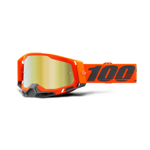 100 Percent RACECRAFT 2 Goggle Kerv - Mirror Gold Lens