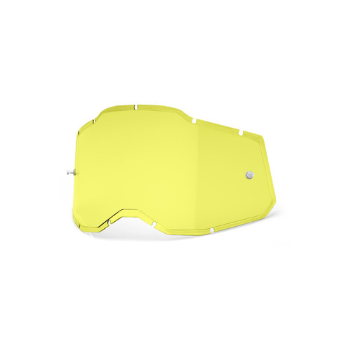 100 Percent RC2/AC2/ST2 Replacement Lens - Injected Yellow