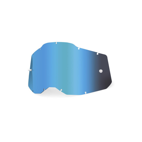 100 Percent AC2/ST2 Youth Replacement Lens - Mirror Blue