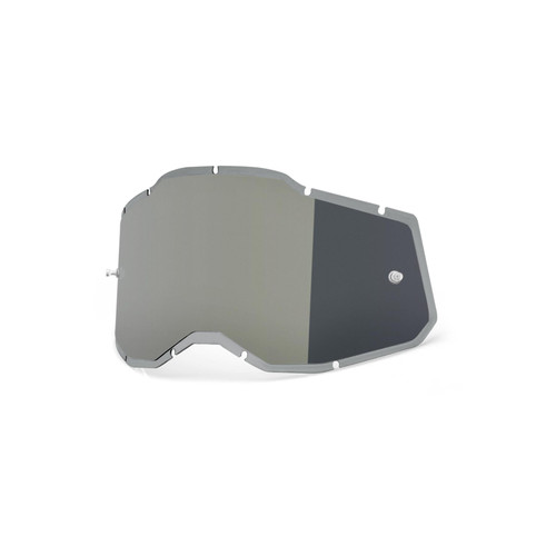 100 Percent RC2/AC2/ST2 Replacement Lens - Injected Mirror Silver