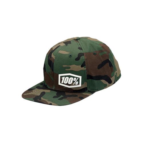 100 Percent MACHINE Snapback Hat Camo